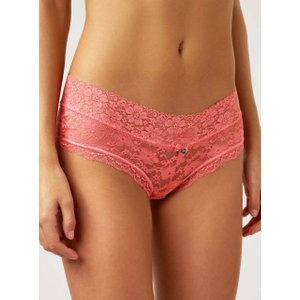 Boux Avenue Lia Lacey Shorts - Rose Pink - 14, Rose Pink