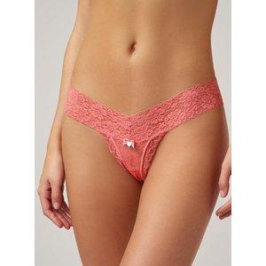 Boux Avenue Lia Lacey Thong - Rose Pink - 06, Rose Pink