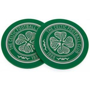 Celtic Fc 2 Pack Coaster Set An375313 Tables
