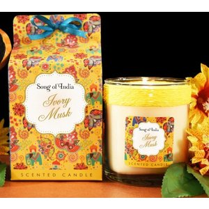 Ivory Musk Soy Wax Scented Candle An441174 House Accessories