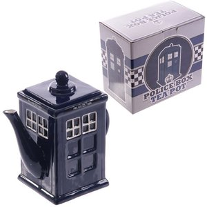 Novelty Police Box Shaped Teapot An366323 Decorations