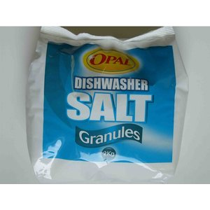 Opal Dishwasher Salt Granules Poly Bag 2kg An414978 Home Accessories