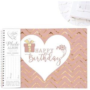 Said With Sentiment Photo Album Happy Birthday An370608 Decorations