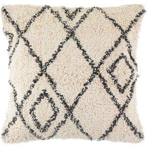 Sass & Belle Berber Style Diamonds Tufted Cushion An408239 Decorations