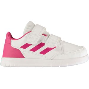 Adidas Alta Sport Infant Girls Trainers - White/pink 4059814012545 Shoes, White/Pink