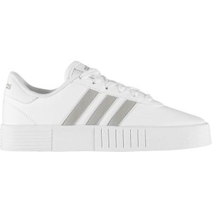 Adidas Court Bold Ladies Trainers - White/platinmet 4062057924940 Shoes, White/PlatinMet