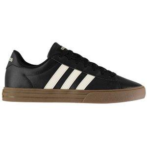 Adidas Daily 2.0 Trainers Mens - Black/white/gum 4060509430056 Shoes, Black/White/Gum