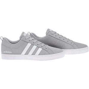 Adidas Pace Vs Nubuck Mens Trainers - Ltgrey/wht/wht 4059322654022 Shoes, LtGrey/Wht/Wht