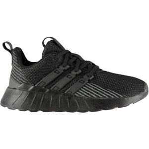 Adidas Questar Flow K Boys Trainers - Tripleblack 4060516289463 Shoes, TripleBlack
