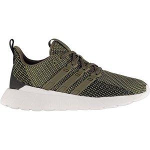 Adidas Questar Flow Mens Trainers - Rawkhaki/wht 4059808118123 Shoes, RawKhaki/Wht