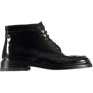 Bass Weejuns Apron Boots - Black Lthr Ba11940 000 Shoes, Black Lthr