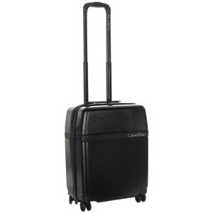 Calvin Klein Clarkson Square Hard Suitcase - Black/black Ck 600 Clarks Bags, Black/Black