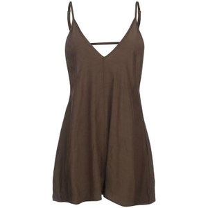 Firetrap Blackseal Beach Dress - Khaki Bsl B003 Womens Swimwear, Khaki