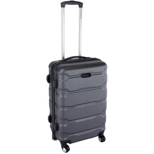 Firetrap Hard Suitcase - Black 24in/63cm Bags, Black 24in/63cm