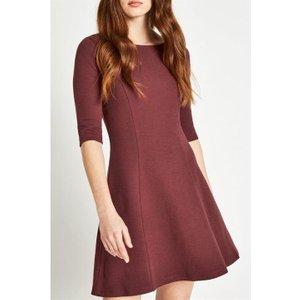 Jack Wills Shoresdean Jersey Dress - Damson 100016630011 Womens Dresses & Skirts, Damson