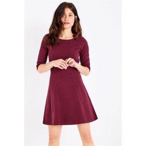 Jack Wills Shoresdean Jersey Dress - Damson 100013715013 Womens Dresses & Skirts, Damson
