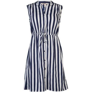Soulcal Print Dress Ladies - Navy Stripe N/a Womens Dresses & Skirts, Navy Stripe