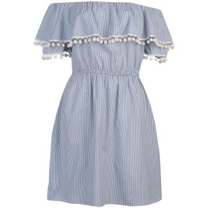 Soulcal Stripe Dress Ladies - Blue N/a Womens Dresses & Skirts, Blue