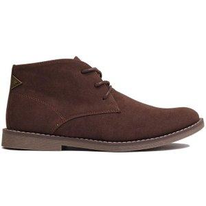 Soviet Mens Desert Boots - Brown 5059027580601 Mens Footwear, Brown