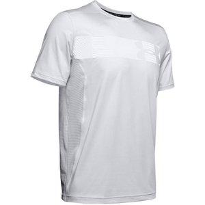 Under Armour Raid Short Sleeve Graphic T Shirt Mens - Grey/navy 1345305 014 General Clothing, Grey/Navy