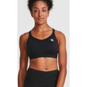Idealfit Core Sports Bra - Black - L - Black Ss17 Csb Bl, Black