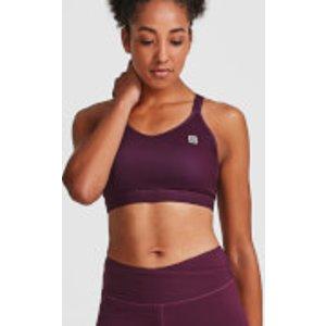 Idealfit Core Sports Bra - Dark Berry - Xl - Purple Ss17 Csb Vxl, Purple
