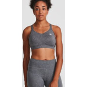 Idealfit Core Sports Bra - Grey - Xl - Grey Ss17 Csb Gxl, Grey