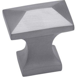 M.Marcus M Marcus Satin Chrome Pyramid Cabinet Knob 35mm C2232 SC