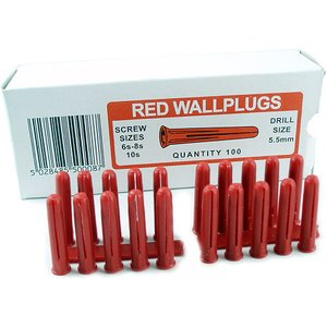 Midwood Red Wall Plugs Sold In 100s