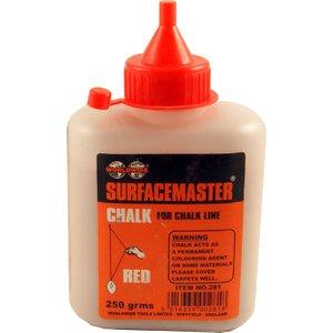 Worldwide Tools Worldwide Chalk Refill 250 Gram 281, Red
