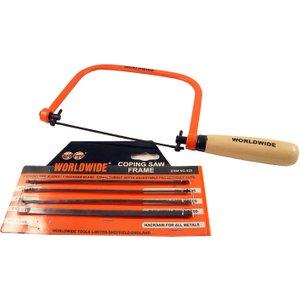 Worldwide Tools Worldwide Coping Saw Set 520
