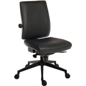 Baron Deluxe 24hr Pu Ergonomic Operator Chair (black Frame) 9600pu/r520