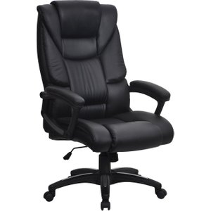 Bartos High Back Executive Chair, Black, Free Delivered & Fully Installed Delivery BCP/G344/BK ASSEMBLEDX, Black