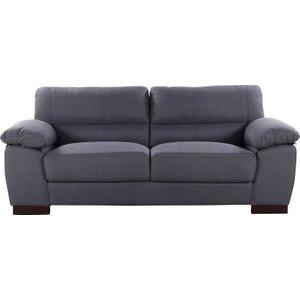 Becker Fabric 3 Seater Sofa, Ash 88 6525 Wf 3 Seat Ash Pallet, Ash