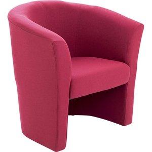 Dundas Single Tub Chair, Burgundy Of0101cl, Burgundy