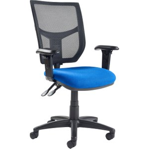 Gordy 3 Lever Mesh Back Operator Chair With Adjustable Arms, Diablo Ah22 0s0 Diablo Ys101, Diablo