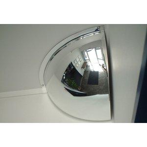 Hemisphere Quarter Face Convex Interior Safety Mirror 450x450mm M18562h