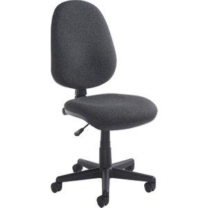 High Back Operator Chair, Charcoal Bilb1 C, Charcoal