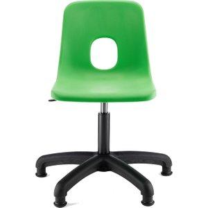 Hille E Series Swivel Chair, 36h-49h (cm) - Senior, Jade, Free Standard Delivery PSS jade, Jade