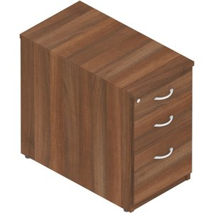 J - Welcome Desk High Pedestals, Beech, Free Delivered & Fully Installed Delivery Pdhp83 Beech, Beech