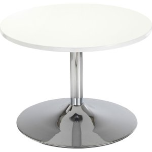 Medway Round Coffee Table, White Ch2677wh, White