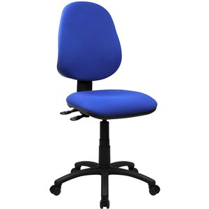 Mineo 2 Lever Operator Chair No Arms Bcf/p505 Blue Built