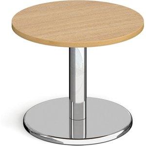 Noli Circular Coffee Table, 60diax49h (cm), Oak, Free Standard Delivery PCC600 O, Oak
