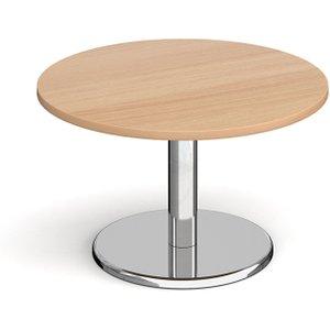 Noli Circular Coffee Table, 80diax49h (cm), Beech, Free Standard Delivery PCC800 B, Beech
