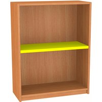 Nucleus Single Sided Bookcase Fd303st Beech