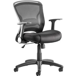Pawnee Mesh Back Operator Chair, Black Op000140 Assembled, Black