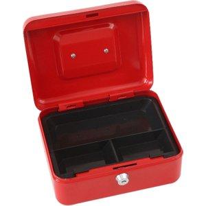 Phoenix Cash Box Cb0101k , Red, Free Door To Door (next Day) Delivery, Red