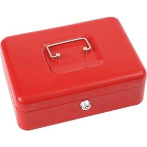 Phoenix Cash Box Cb0102k , Red, Free Door To Door (next Day) Delivery, Red
