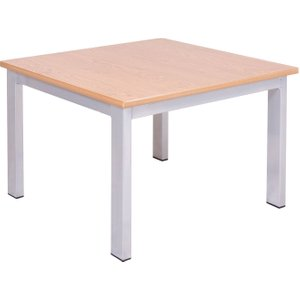 Segura Coffee Table, Silver/beech, Free Standard Delivery CFT 600 CH SILVER/BEECH