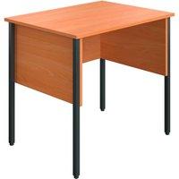 Slater Rectangular Home Office Desk (beech), 80wx60dx73h (cm) Ecmhd8060be